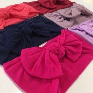 6 Nylon Baby Headbands